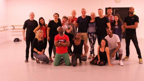 18.06.16 Kizomba Workshop in Copenhagen with Ben
